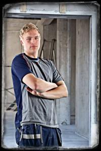 David Hansson, Träarbetarlärling