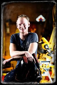Ivan Lundgren, Träarbetare