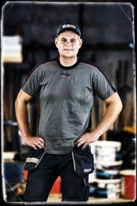 Andre Ekström, Träarbetare